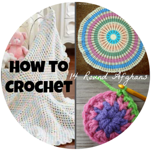 How to Crochet Round Afghans