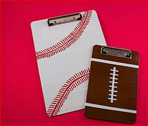 Sports Clipboard Duct Tape Crafts