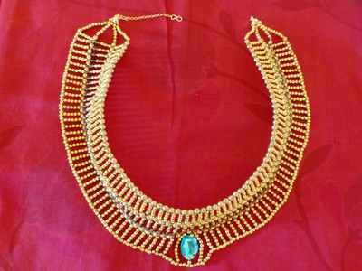 Elegant Egyptian DIY Necklace