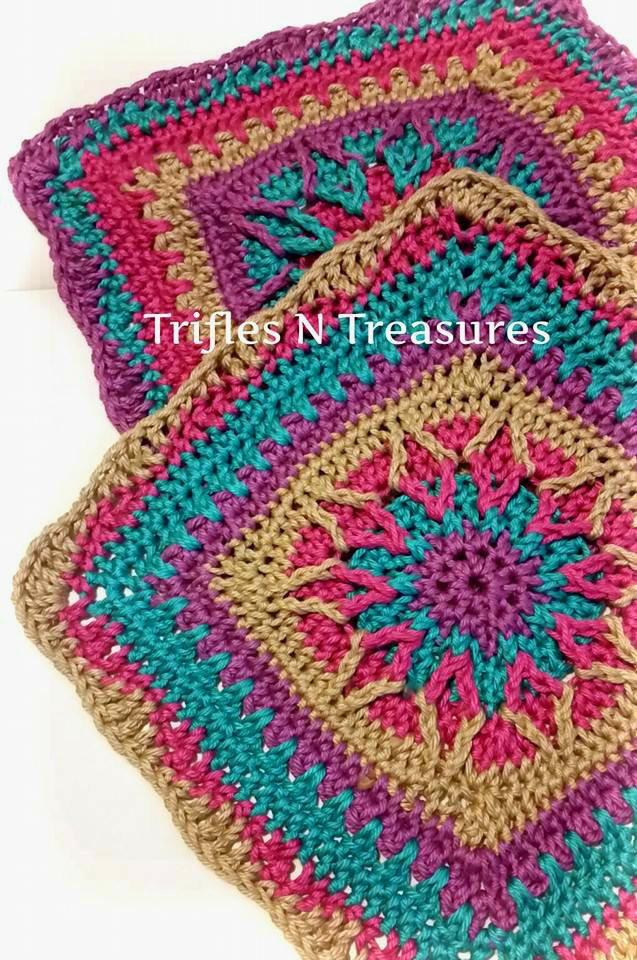 Starburst Crochet Granny Square ...
