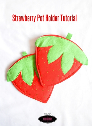 Strawberry DIY Pot Holder