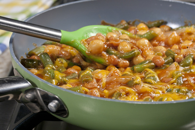 Cheesy Skillet Beans