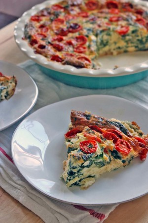 Yummy Crustless Quiche