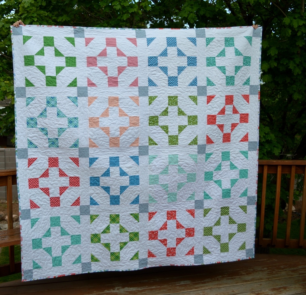 Hang Time Easy Quilt Pattern Favequilts Com