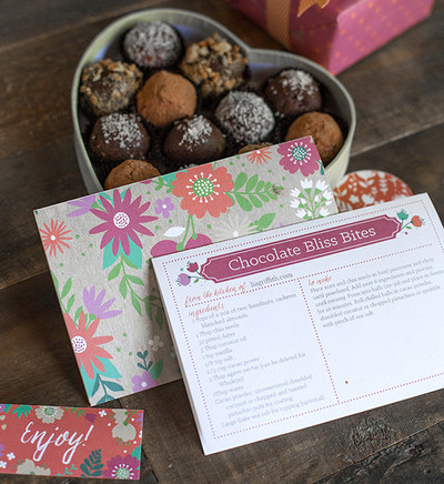 Printable Flower Recipe Cards