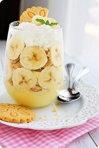 Mini Banana Pudding Trifles