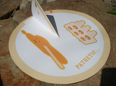 Printable Popsicle Sundial