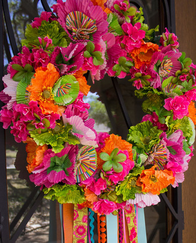 Fiesta DIY Wreath