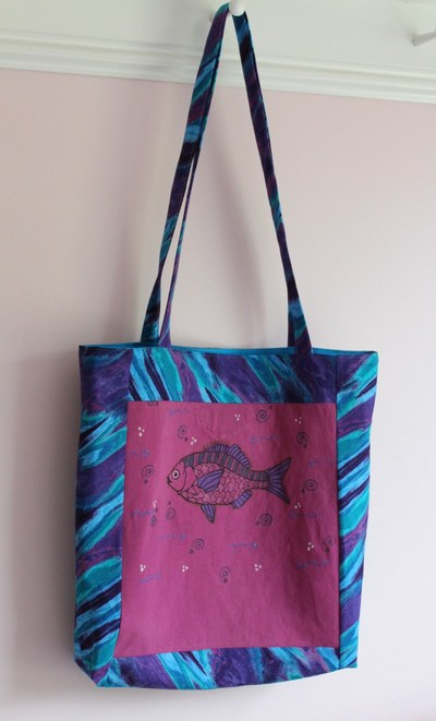 T-Shirt Quilt Pattern Tote