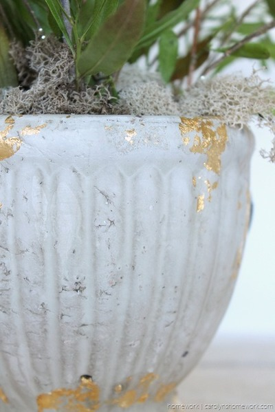 Glittering Gold DIY Garden Projects