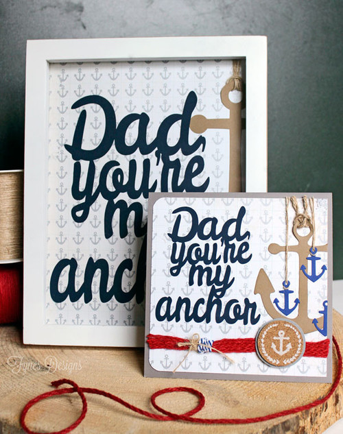 Fathers Day Card Gift and Free Silhouette Cut Files