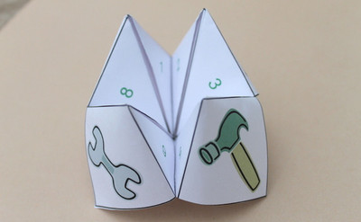Fun Father's Day Cootie Catcher