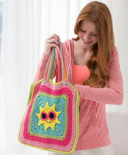 Sunshine Crochet Bag
