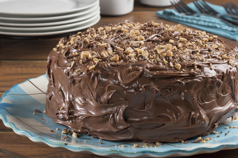 Easy Perfect Chocolate Cake Mrfood Com