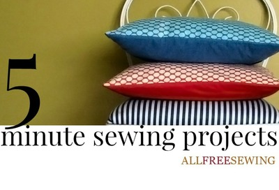 200 diy sewing projects for beginners allfreesewing 5 minute quick sewing projects solutioingenieria Images