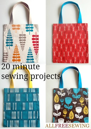 20 Minute Sewing Projects