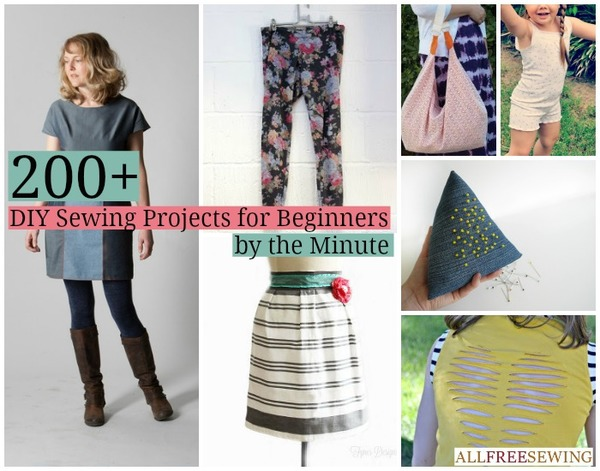 200 diy sewing projects for beginners allfreesewing diy sewing projects for beginners by the minute solutioingenieria Images