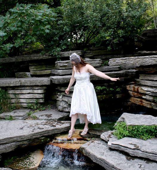 Make Your Own Wedding Dress: Make Your Own Wedding Dress: Repurpose An Old Dress