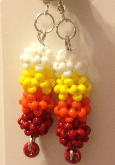Fireball Drop Earrings