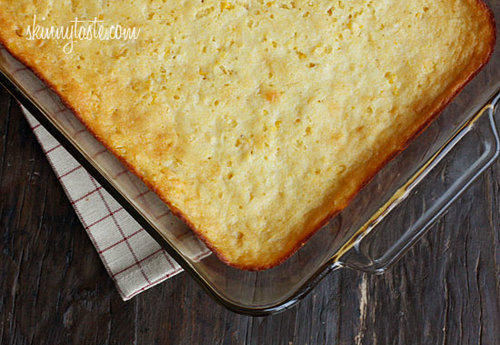 Secretly Skinny Cream Corn Casserole