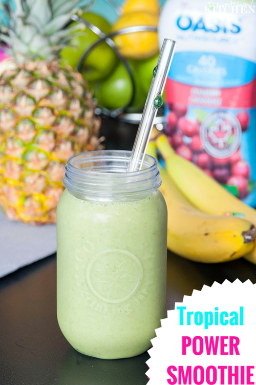 Tropical Power Smoothie