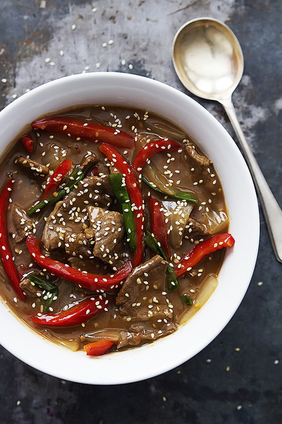 Asian-Style Slow Cooker Sesame Beef