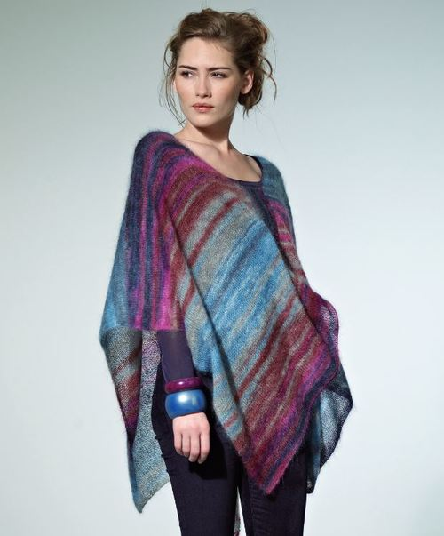 Tranquil Dusk Poncho