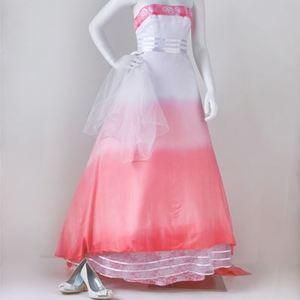 Ombre Blush DIY Wedding Dress