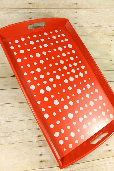 Dotty DIY Serving Tray