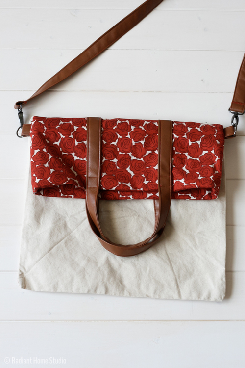 Fold Over Tote Bag Pattern
