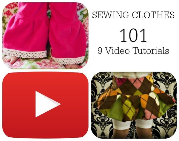 Sewing Clothes 101: 9 Video Tutorials
