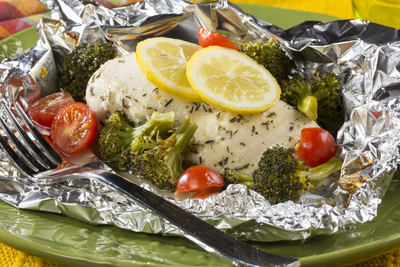 Sunny Lemon Chicken  Broccoli