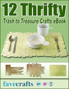 """12 Thrifty Trash to Treasure Crafts"" eBook"