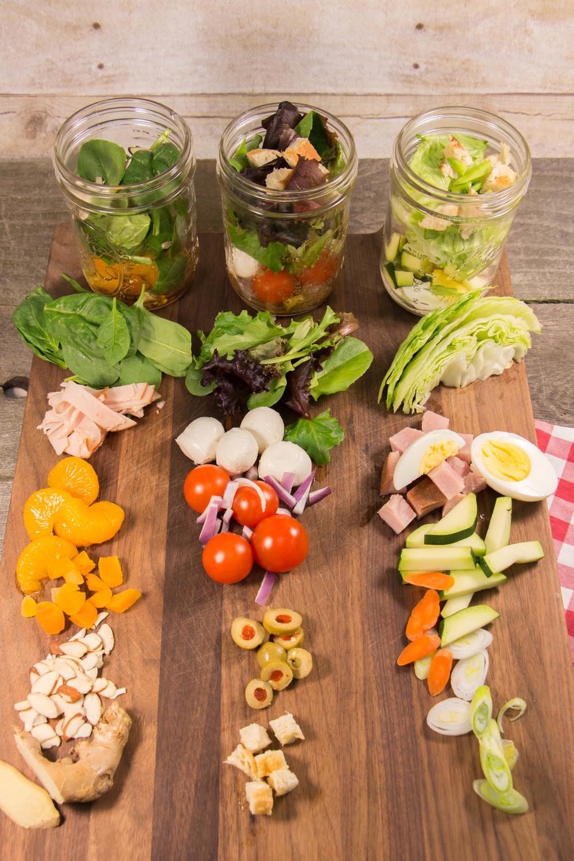 Mason Jar Salads Favehealthyrecipes Com