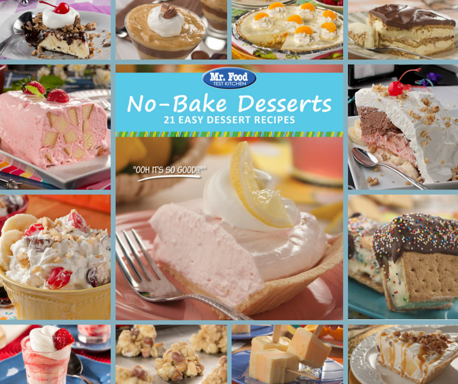Easy recipes for baking desserts