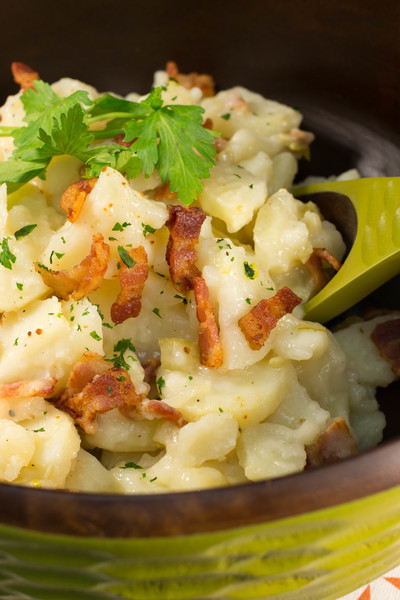 Grandma Frances' Wisconsin German Potato Salad