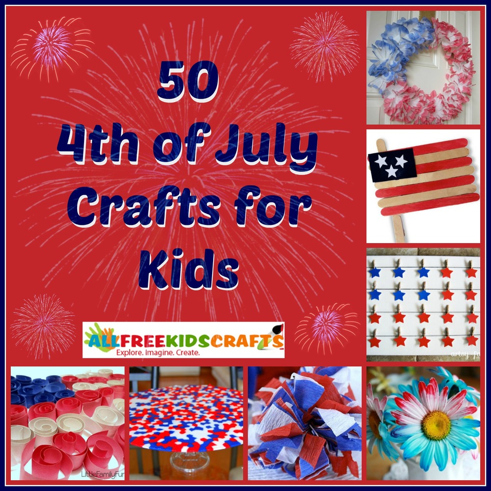 50 4th of july crafts for kids allfreekidscrafts