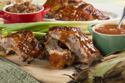 TLC Barbecued Ribs