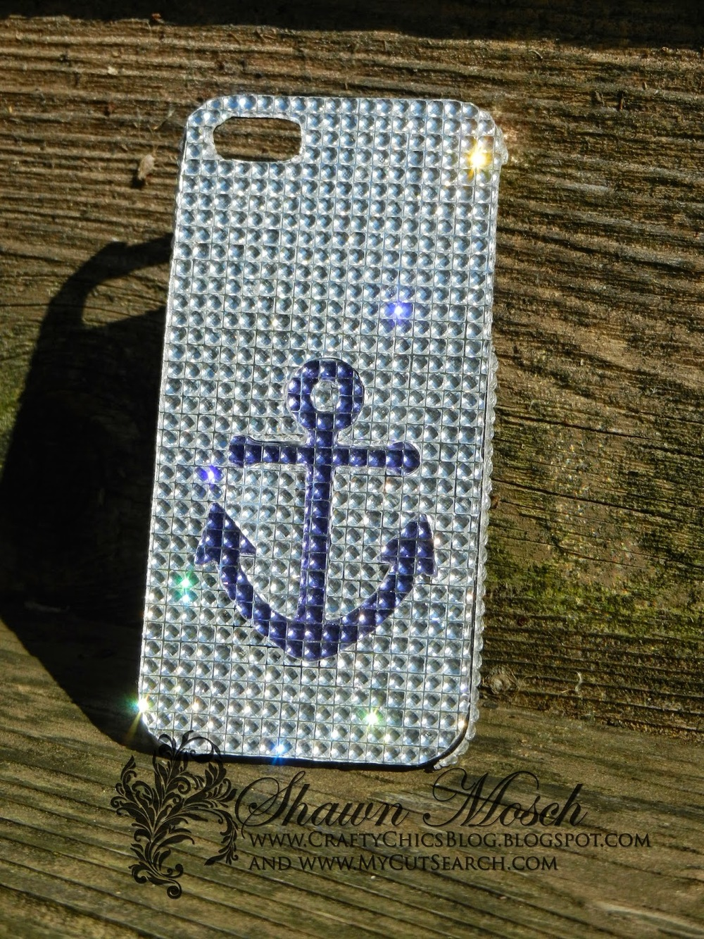 Blinged Out Diy Cell Phone Case Favecrafts Com