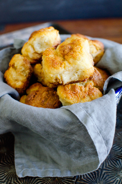 Lightened-Up Southern Buttermilk Biscuits
