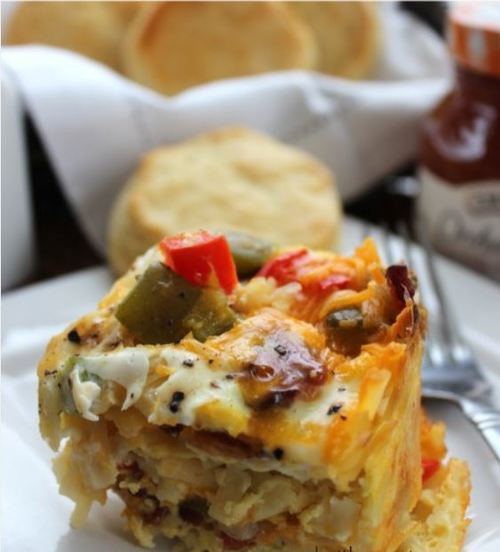 The Easiest Breakfast Casserole