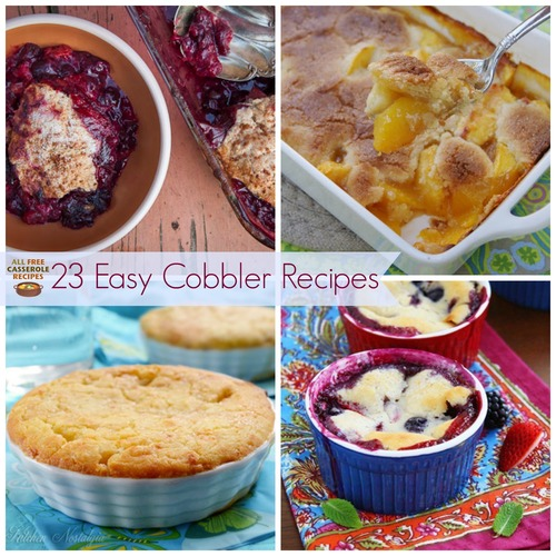 23 Sweet Recipes for Cobblers