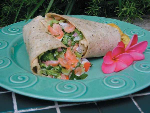 Shrimp Salad Wraps