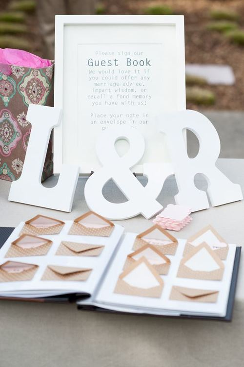 Go Postal Wedding Guest Book