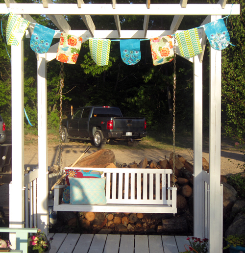 No Sew All Weather Outdoor Bunting