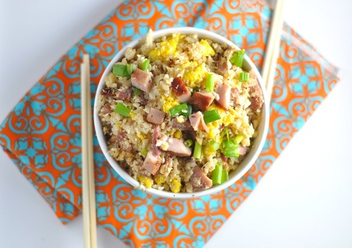 Gluten Free Ham and Egg Fried Rice