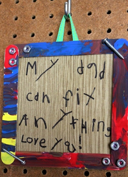 Kid Made Fathers Day Frame
