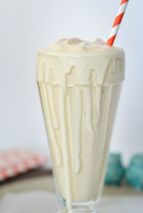 5-Ingredient Peanut Butter Milkshake
