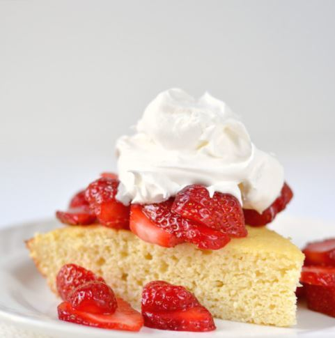 Sinless Strawberry Shortcake