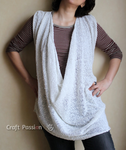 Stockinette Stitch Tank Top